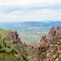 Views from the Siphon Draw Trail.- Superstition Mountain Hikes You Won't Want to Miss