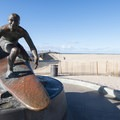 Tim Kelly Lifeguard Memorial at the Hermosa Beach Pier.- Surfer's Guide to LA
