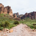 Views from the descent from Flatiron Mountain.- Superstition Mountain Hikes You Won't Want to Miss