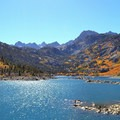 Lake Sabrina near Mammoth Lakes.- Best Adventure Towns in California