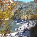 Approaching the Inlet on Lake Sabrina.- 15 Perfect Day Hikes to Find Fall Foliage