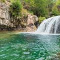 Fossil Creek Falls is a favorite Arizona swimming hole.- Arizona Swimming Holes