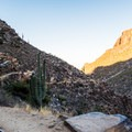 Looking back at Bear Canyon Trail.- Trails, Tents + Tacos: Unrivaled Explorations in Tucson, AZ