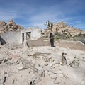 Ruins of the old Wonderland Ranch along the Wall Street Mill Hike.- Guide to Hiking in Joshua Tree National Park