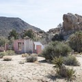 Ruins of the old Wonderland Ranch along the Wall Street Mill Hike.- 11 Best Day Hikes in Joshua Tree National Park