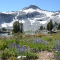 Meadow and Eagle Cap, Glacier Lake.- Amazing Alpine Lakes