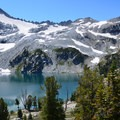 Eagle Cap and Glacier Lake.- High Altitude Hikes to Rise Above the Heat