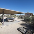 Typical group campsite at Cottonwood Campground.- Guide to Camping in Joshua Tree National Park