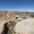 View of the Ryan Ranch adobe ruin.- 11 Best Day Hikes in Joshua Tree National Park