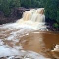 Upper Falls, Gooseberry Falls State Park.- Road Trip Along the North Shore of Lake Superior