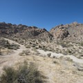 Indian Cove Nature Trail.- Joshua Tree National Park