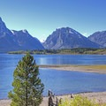 View of the Tetons across Jackson Lake.- 3 Days in Grand Teton National Park