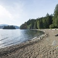 Swim beach at Green Point Day Use Area.- Vancouver B.C.'s Best Beaches + Swimming Holes