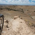 Top of Joe's before racing to the bottom.- Great Mountain Biking in Fruita and Grand Junction, Colorado