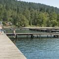 Swimming docks at Cultus Lake Park and Main Beach.- Vancouver B.C.'s Best Beaches + Swimming Holes