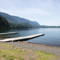 Boat ramp at Entrance Bay Day Use Area + Swim Beach.- 5 Reasons Why You Should Spend a Weekend at Cultus Lake