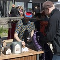 Patagonia sells and fixes old garments at the 2016 Summer Solstice Block Party.- Outdoor Project's 2017 Block Party Series