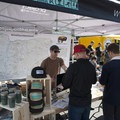 Outdoor Project's Aron Bosworth maintains the OP booth at the 2016 Summer Solstice Block Party.- Outdoor Project's Vancouver Block Party 2017