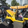 Base Camp Brewing Co. Jenning's Toyota FJ40 decked out for summer adventure.- Outdoor Project's Salt Lake City Block Party 2017