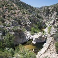 Deep Creek Canyon 0.5 miles upstream from Devils Hole.- Southern California's 18 Best Swimming Holes