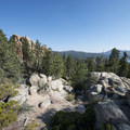 View of Castle Rock.- 3-day Itinerary for Big Bear Lake, California