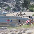 Big Bear Lake West Shore Beach.- Southern California's 18 Best Swimming Holes