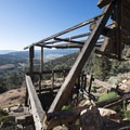 The newer Doble Mine 40 stamp mill, built in 1900.- Ghost Towns of the West