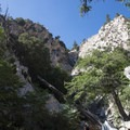 First view of Big Falls.- 10 Best Waterfall Hikes Near Los Angeles