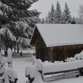 Fish Lake Remount Depot, Willamette Foothills, Oregon.- 45  Cozy Cabins and Lodges for your Winter Getaway