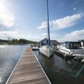 Marina (private) on Chatfield Reservoir, Chatfield State Park.- Denver's Best Parks