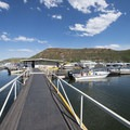 Marina at Inlet Bay Campground, Horsetooth Reservoir County Park.- Horsetooth Reservoir County Park
