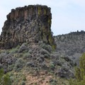 Chimney Rock.- Astounding Rock Formations