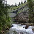 South Fork Cascades on the Ousel Falls Trail.- 14 Hikes in Greater Yellowstone