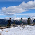 Catch a great view of the Hyalite peaks to the east from Garnet Mountain.- 14 Hikes in Greater Yellowstone