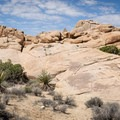 Rockpiles along the Skull Rock Nature Trail.- Guide to Hiking in Joshua Tree National Park