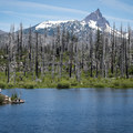 Island Lake below Three Fingered Jack.- Oregon's 60 Best Lakes for Summer