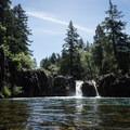 Wildwood Falls.- Oregon's 30 Best Swimming Holes