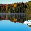 Fall foliage at Woodford State Park in Vermont.- The Best Leaf-Peeping Adventures for Fall Foliage