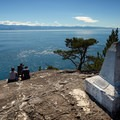 Beechey Head marker stone on the Coast Trail.- Victoria B.C.'s Best Adventures