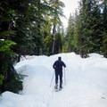 Alexander Falls Snowshoeing.- Ski Bum Sweethearts' Best Romantic Getaways