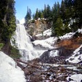 Alexander Falls in Callaghan Country.- 26 Amazing Snowshoe-to-Waterfall Adventures
