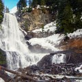 Alexander Falls in winter.- Ski Bum Sweethearts' Best Romantic Getaways