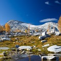 Small pool of water in the Upper Enchantment area.- 15 Perfect Day Hikes to Find Fall Foliage