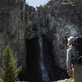 Fairy Falls.- 15 Backcountry Hikes in Yellowstone National Park
