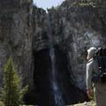 Fairy Falls.- Yellowstone National Park