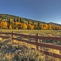 Fall is the most scenic time of year to travel to Weber Canyon.- Great American Towns for Fall Foliage