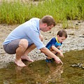 The shallow waters at Rome Point are great for exploring with little ones.- Perfect Summer Escapes to Cool Off in New England