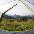 A room with a view along the Four Pass Loop- Our 10 Favorite Dog-Friendly Backpacking Trips