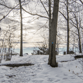 Approaching the overlook in Franny Reese State Park. - Hudson Valley's 12 Best Winter Adventures