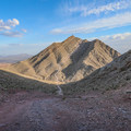 The peak of Frenchman Mountain viewed from the false summit.- 11 Best Day Hikes Near Las Vegas